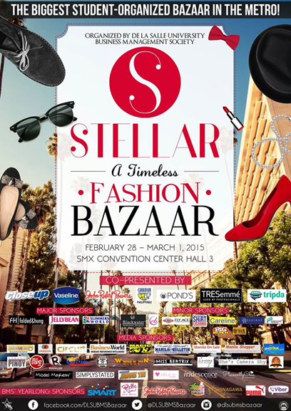 Stellar: A Timeless Fashion Bazaar at SMX Convention Center: February 28 – March 1, 2015