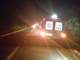 Homem fica ferido após se envolver em acidente entre Cuité e Nova Floresta