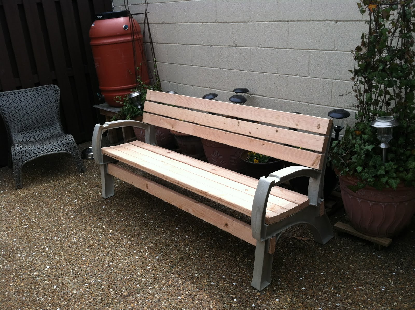 Park Style Bench
