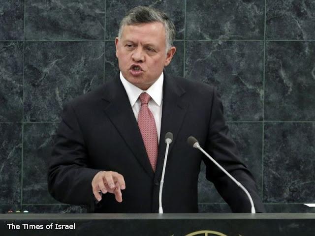 Raja Abdullah II dari Yordania Minta PBB Terus Dukung Palestina