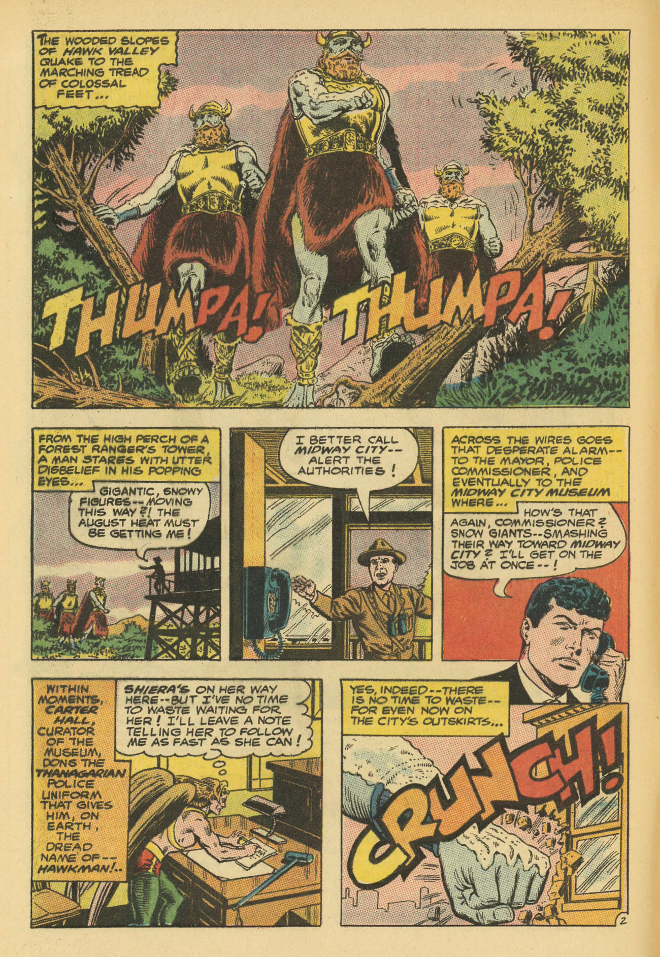 Hawkman (1964) issue 13 - Page 4