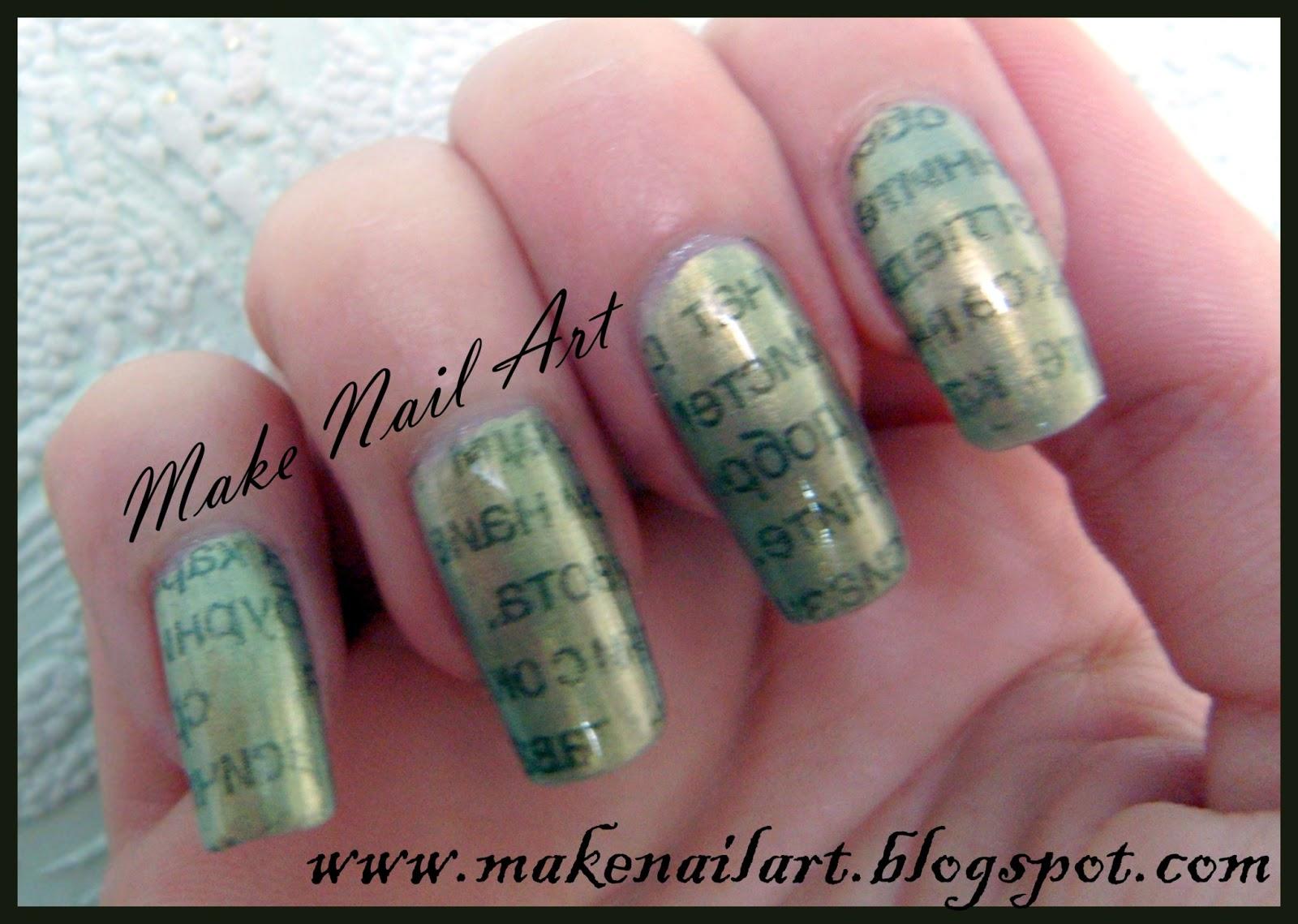 Make Nail Art: February 2013