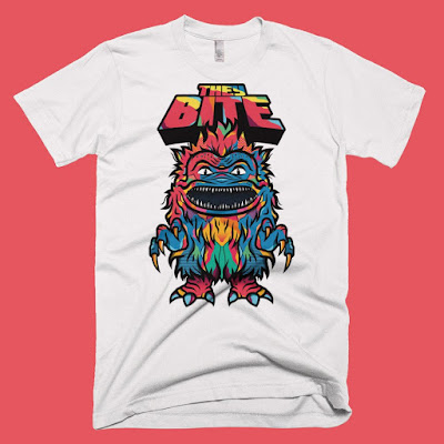 "Critters ""They Bite"" T-Shirt by Van Orton Design x Skuzzles"
