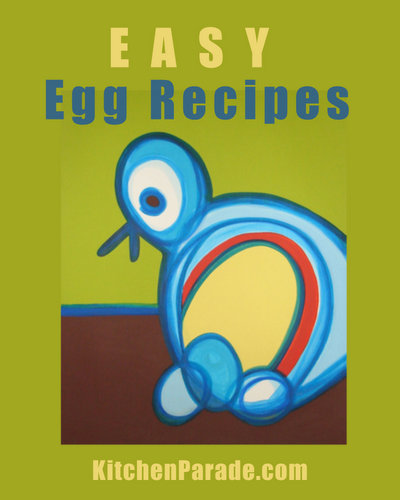 Easy Egg Recipes ♥ KitchenParade.com, an inspiring collection with how-to's and recipes