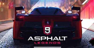 Asphalt 9: Legends v0.4.6с MOD Apk + OBB Data Terbaru