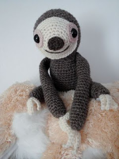 Chiwaluv Amigurumi Critters Baby Sloth