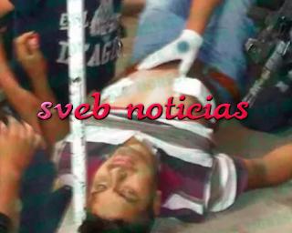 Balean a un joven en la colonia El Moral de Xalapa Veracruz
