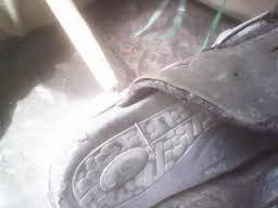 Cara membuat alat jahit sepatu dari jari-jari sepeda dan cara penggunaannya