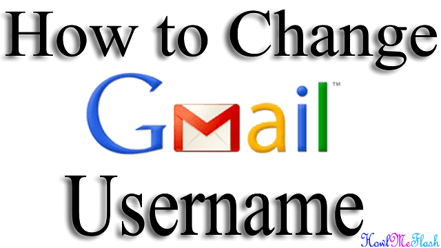 Change Your Gmail Username