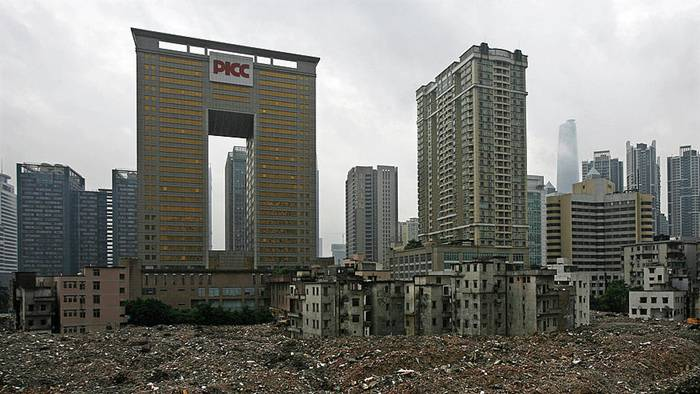 Ahead of the Asian Games in 2010 many buildings were demolished to make way for more modern developments as property prices soared and developers poured billions into real estate.