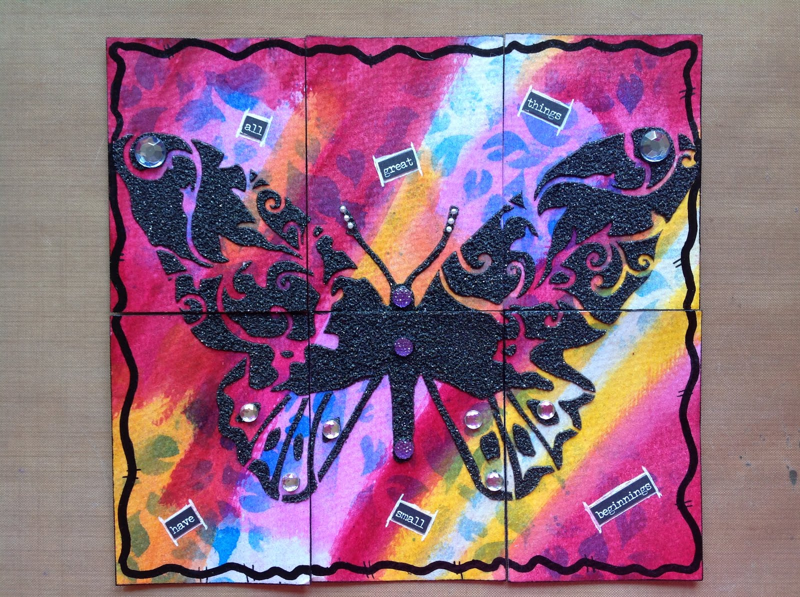 Amazing butterfly ATC's