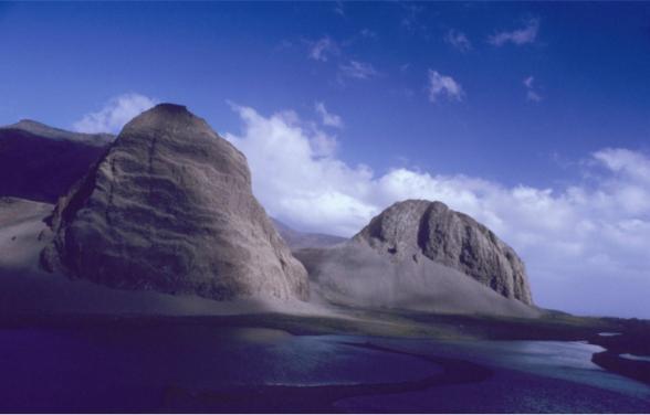 Toma siete días llegar aquí, a Isla Desolación