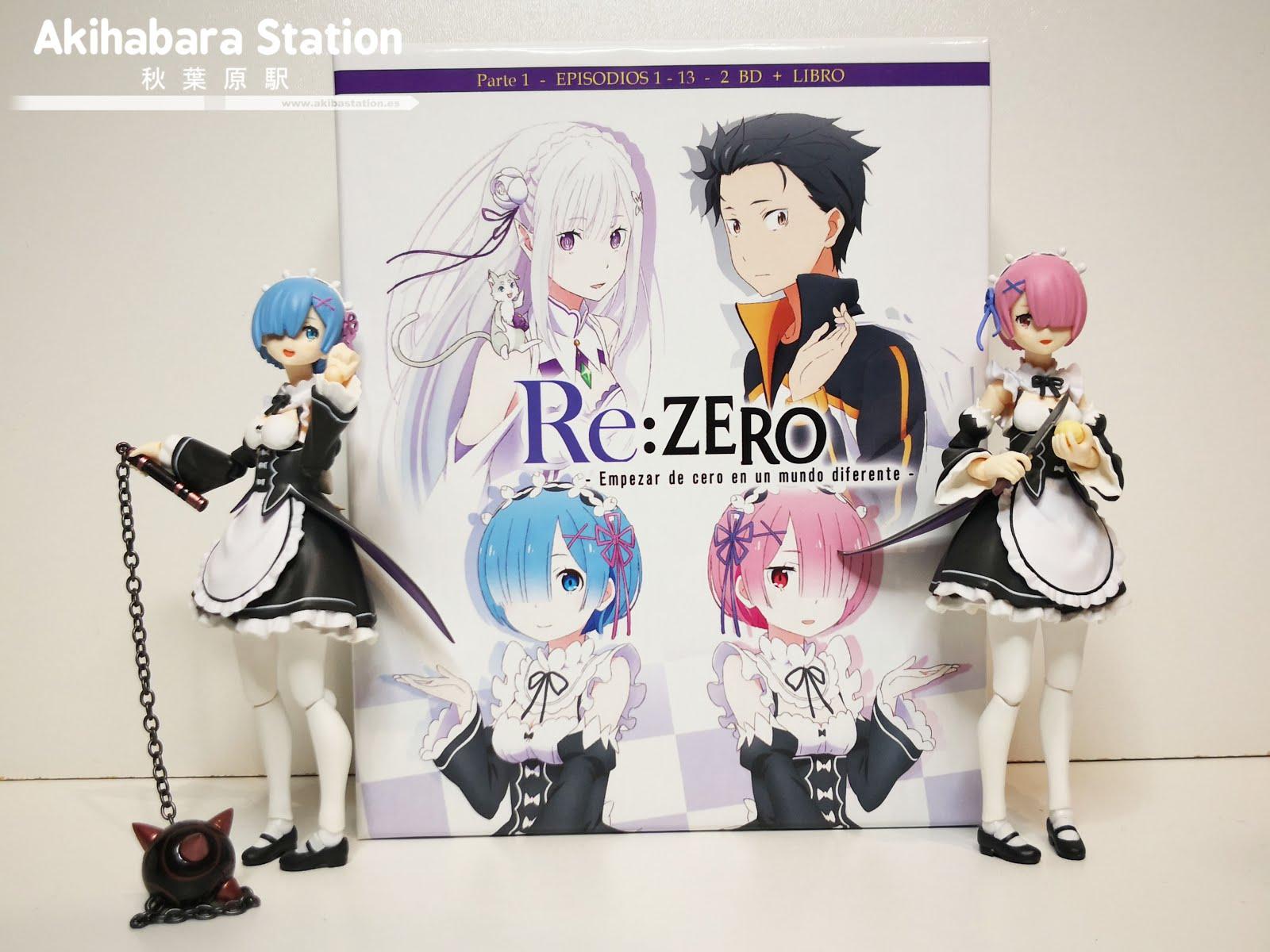 Review de Re:Zero - Empezar de cero en un mundo diferente Box.1 ed. Coleccionistas - SelectaVisión