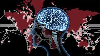 brain vs internet
