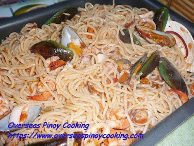 Spaghetti Marinara Dish