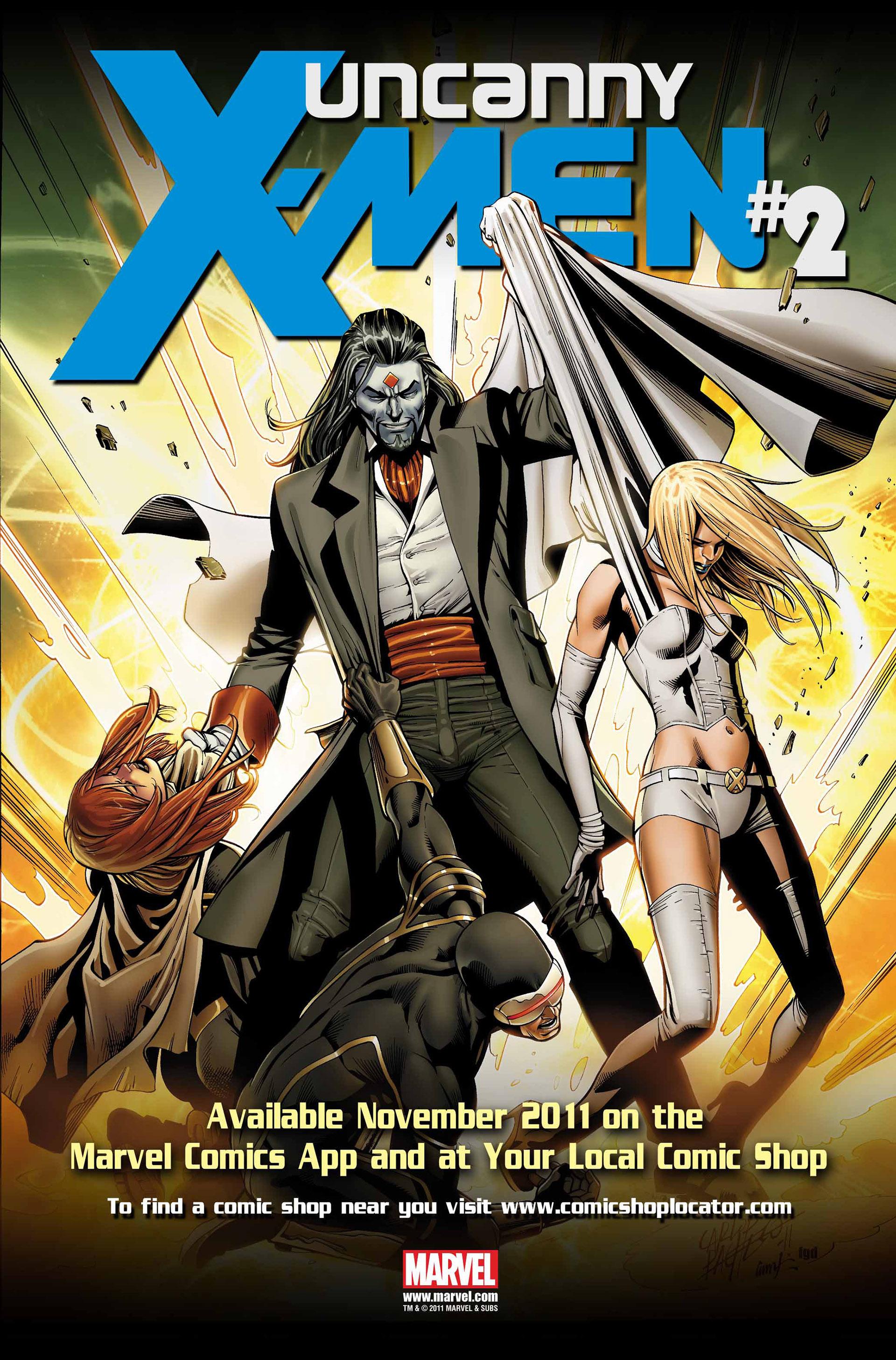 Read online Uncanny X-Men (2012) comic -  Issue #1 - 34