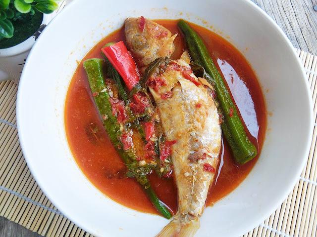 Ikan Merah Masak Asam Pedas