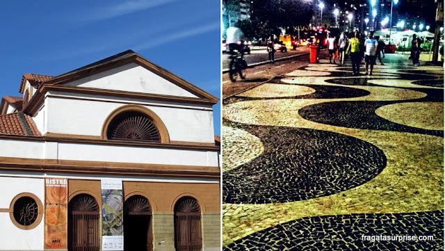 Rio de Janeiro - Casa França Brasil e Calçadão de Copacabana