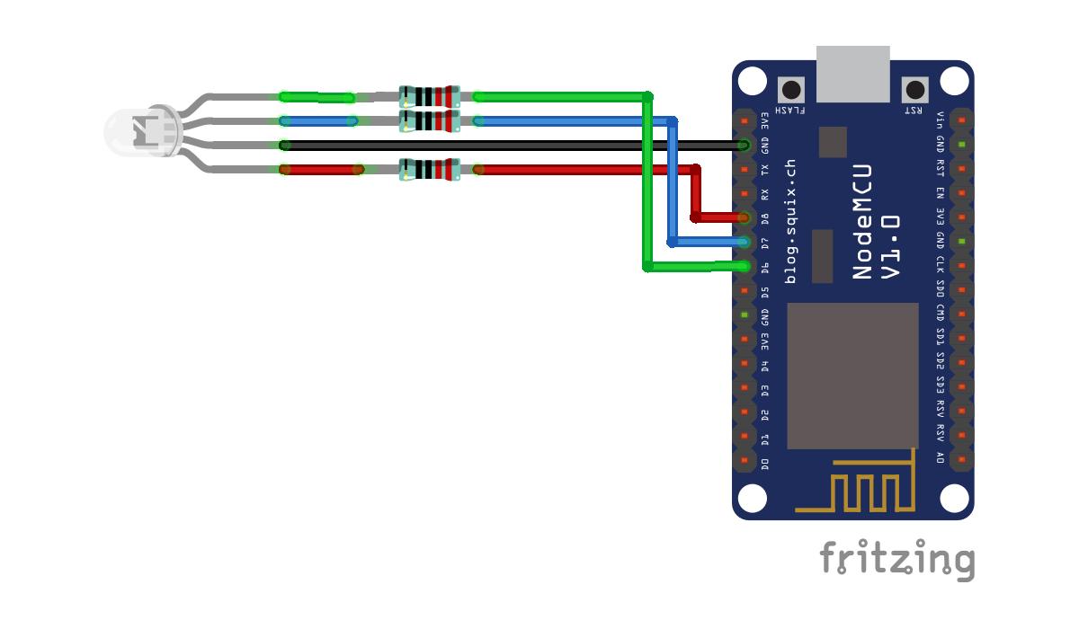 Arduino er nodemcu esp implement websocketsserver to