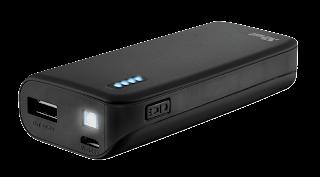 trust powerbank caricabatterie 22135