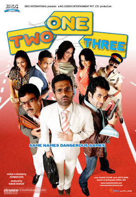 One Two Three 2008 Hindi 720p WEB-DL 950MB