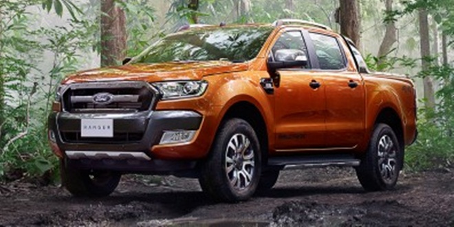 2016 Ford Ranger Wildtrak Facelift