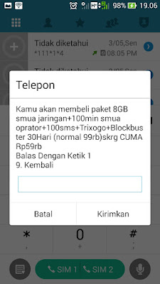 Cara Paket Internet Three (3) Murah 8GB KEPO HOTSALE