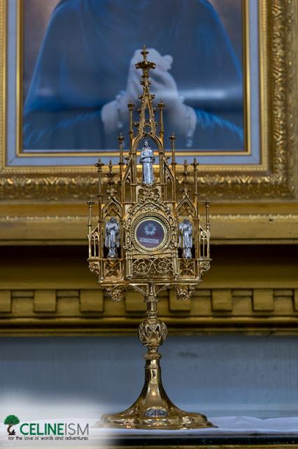 santa faustina relic philippines