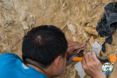 Arqueólogo en Tautavel