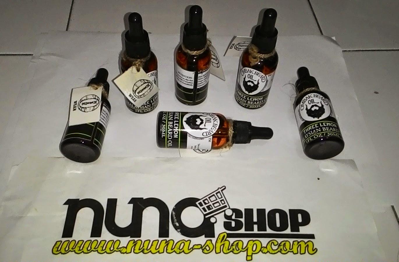 Ombak Beard Oil made in Malaysia untuk Grooming Jenggot, Kumis dan Brewok dengan Lemon Scent