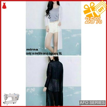 AFO466 Model Fashion Mirna no iner Modis Murah BMGShop