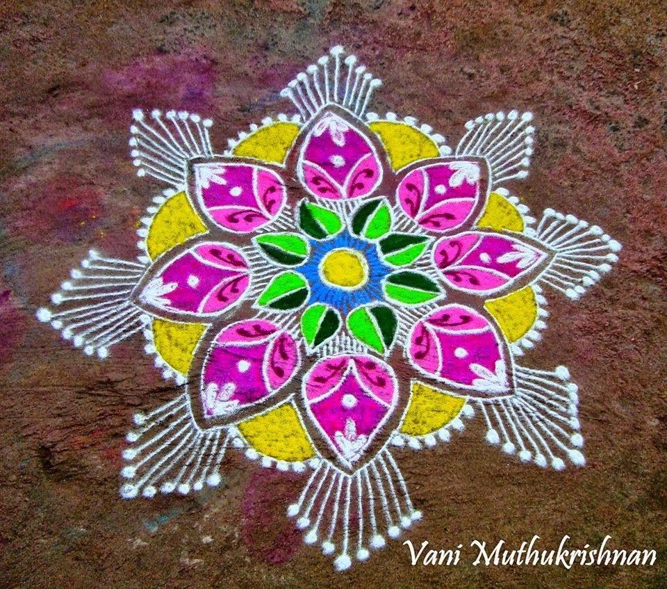 Kolam Designs 46