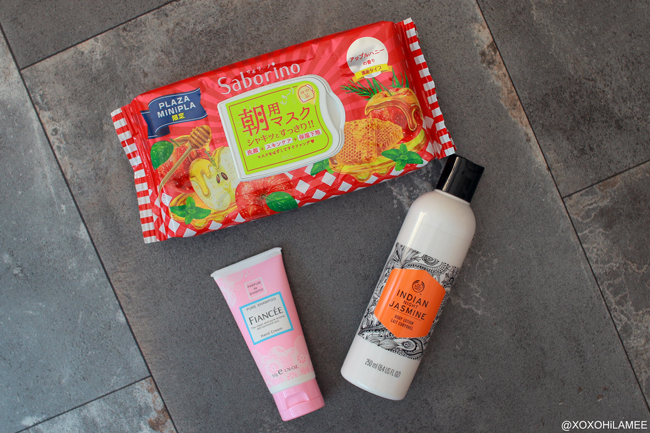 Japanese Fashion blogger,Mizhuo K,Whats NEW IN September,THE BODY SHOP,Saborino,FIANCEE body hand care
