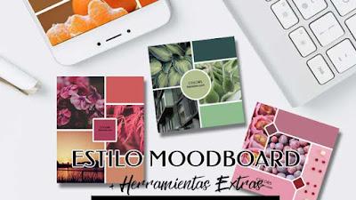 Estilo MoodBoard + Extra En Herramientas
