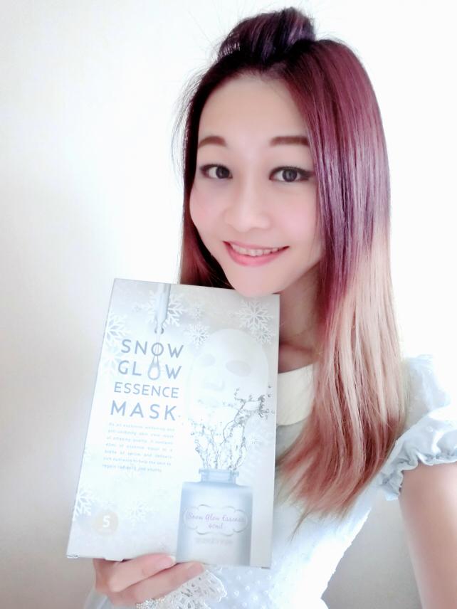 SnowGlow, Mask, 透光面膜, 纖維面膜, 莎莎, SaSa, lovecath, hkblogger, beauty, catherine, skincare, 夏沫