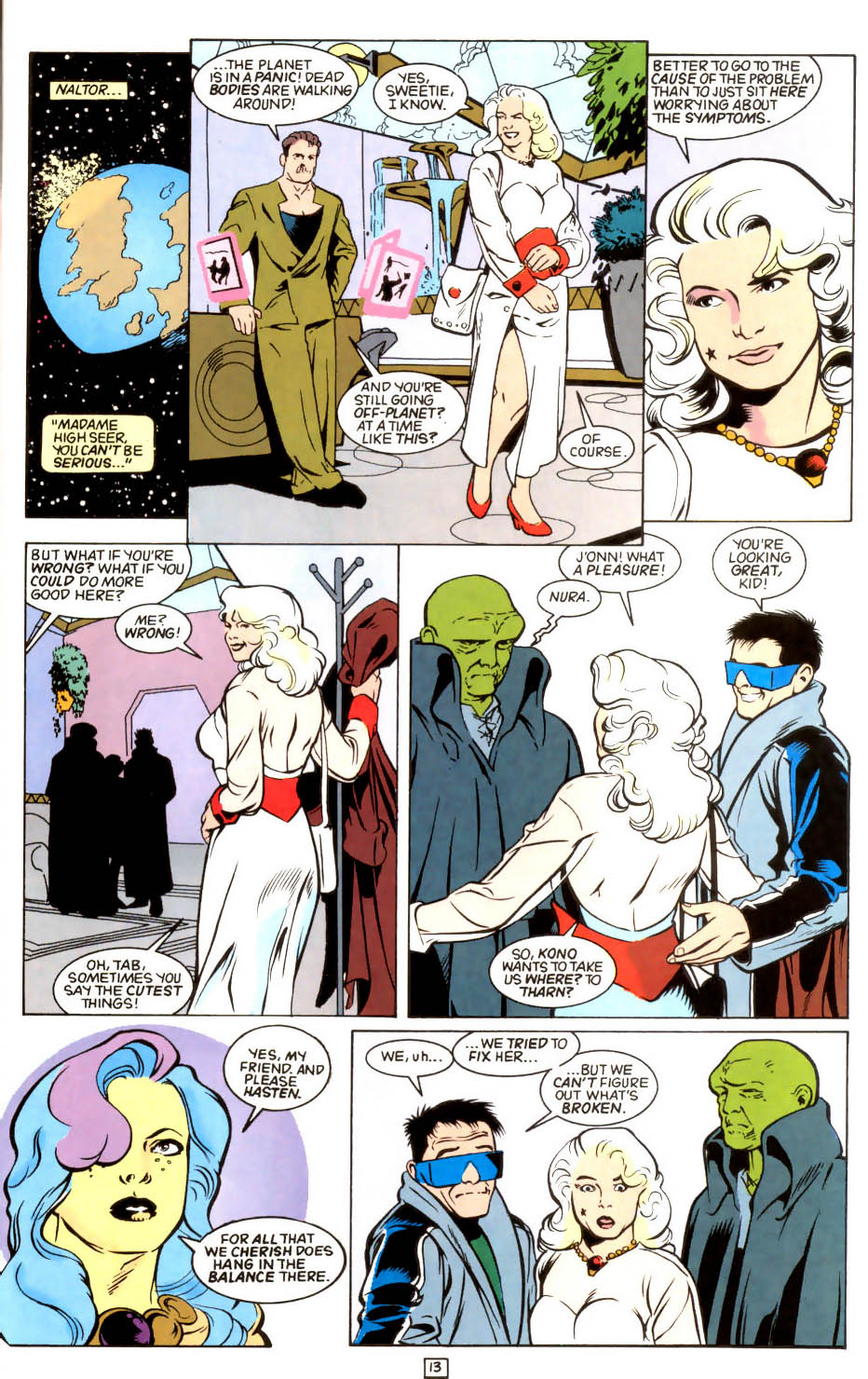 Legion of Super-Heroes (1989) 45 Page 12