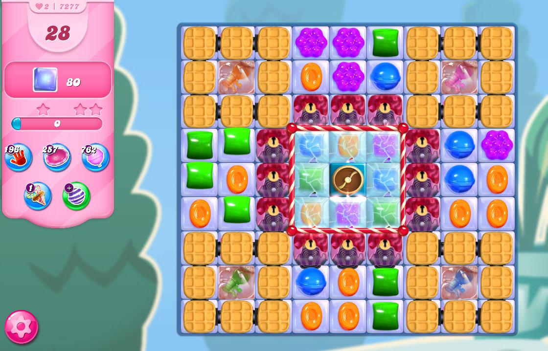Candy Crush Saga level 7277
