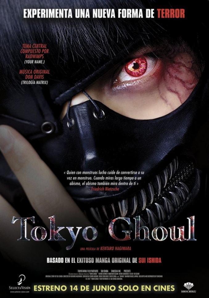 Tokyo Ghoul live-action poster - Selecta Visión