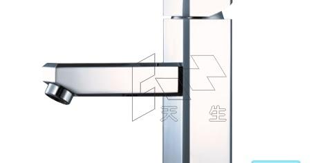 Caesar凱撒衛浴 B460C 方型單孔面盆龍頭 ~ 天生水電材料行 三久太陽能熱水器高雄經銷服務中心