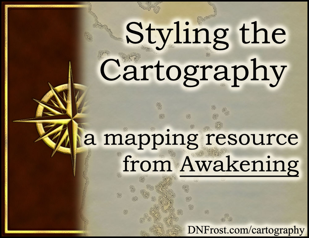 Styling the Cartography: planning for old-world inaccuracy http://www.dnfrost.com/2016/11/styling-cartography-mapping-resource.html #TotKW A worldbuilding resource by D.N.Frost @DNFrost13 Part 2 of a series.