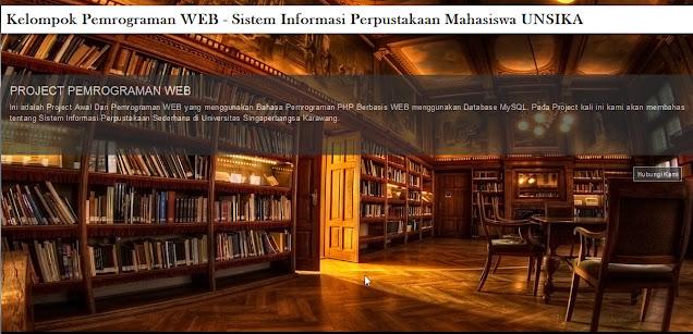 Source Code Web Perpustakaan Online PhpMysql