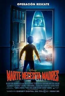 Marte necesita madres (2011) online
