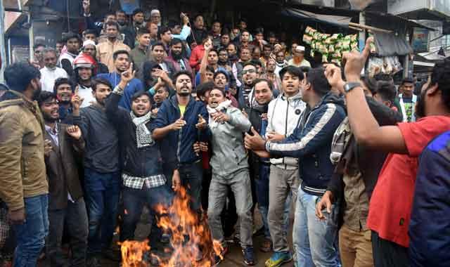 কালিহাতীতে লতিফ সিদ্দিকীর কুশপুত্তলিকা দাহ: অবাঞ্চিত ঘোষণা