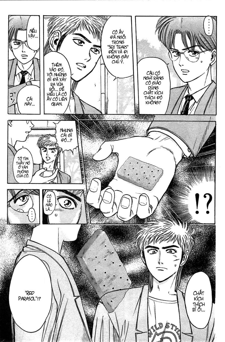 Psychometrer Eiji chapter 38 trang 8
