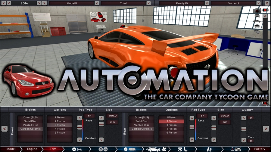 Automation The Car Company Tycoon Game Download Poster