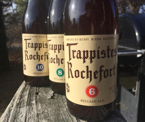 Trappistes Rochefort 6, 8 & 10