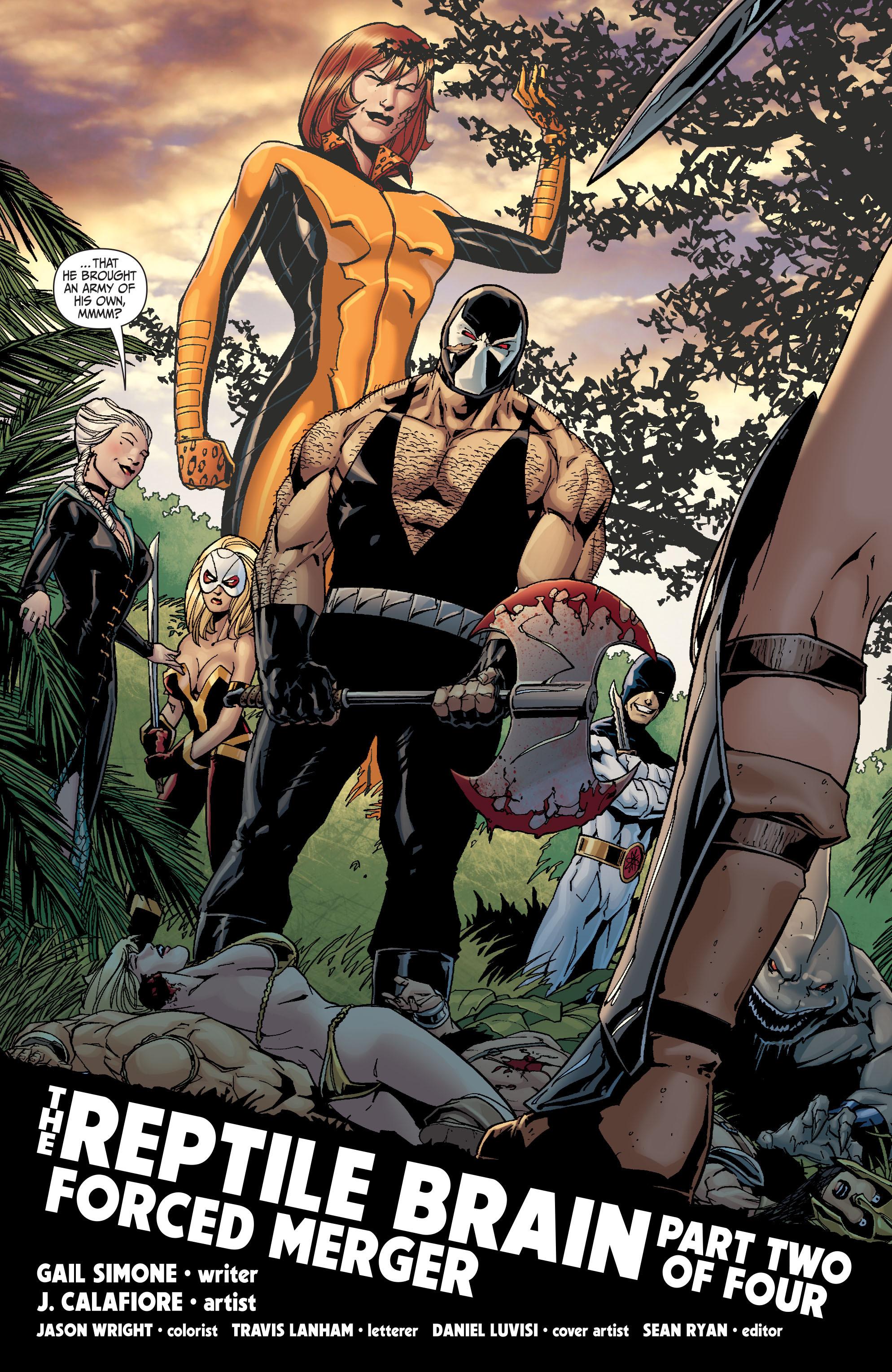 Read online Secret Six (2008) comic -  Issue #26 - 5