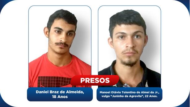 Polícia Civil prende dupla por tentativa de homicídio em Canindé de São Francisco/SE