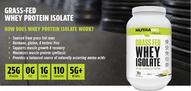 NutraBio Whey Protein Isolate Review
