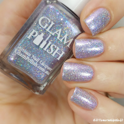 Glam Polish Fantastic Fandoms Exclusives You Have No Power Over Me Swatches and Review